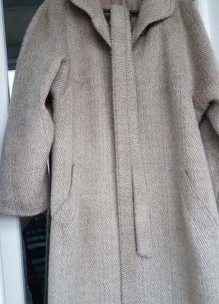 👉идеальное пальто hucke шерсть&мохер👍3