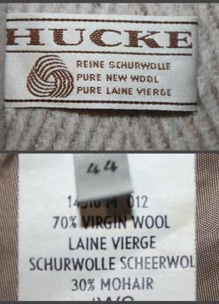 👉идеальное пальто hucke шерсть&мохер👍4