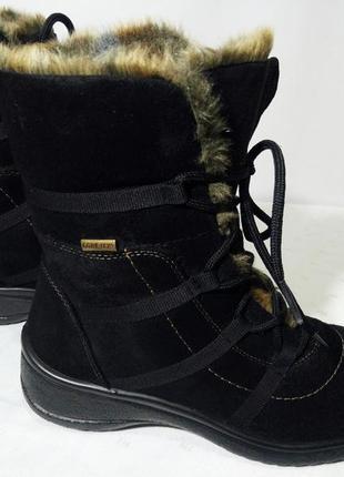 Зимние сапоги,ботинки ara(ара), 38р,стелька24,5см. отличное состояние1 фото