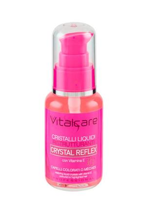 Профессиональные жидкие кристаллы для окрашенных волос с вит. e crystal reflex, 50 мл1