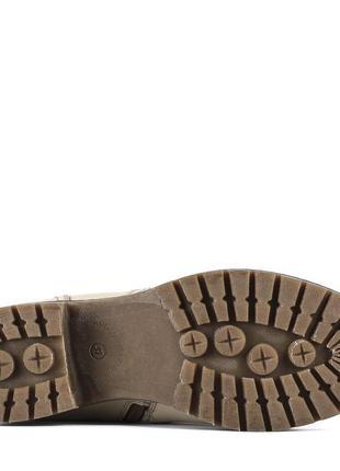 978цп женские сапоги attico,кожаные,на толстом каблуке,на каблуке,на низком ходу5