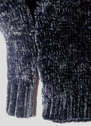 Шикарный велюровый бархатный свитер4 фото
