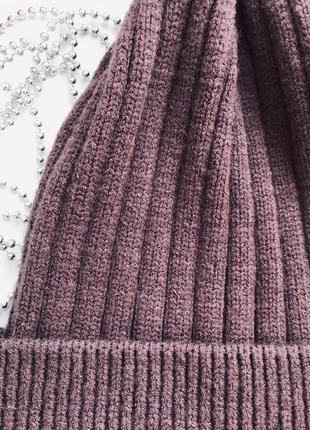Тёплая шапка3