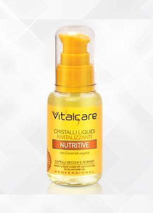 Профессиональные жидкие кристаллы для сухих и ослабленных волос nutritive vitalcare, 50 мл1