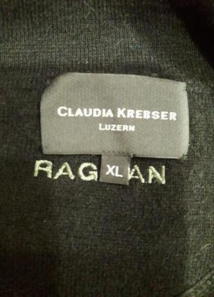 Кашемировый свитер черного цвета3