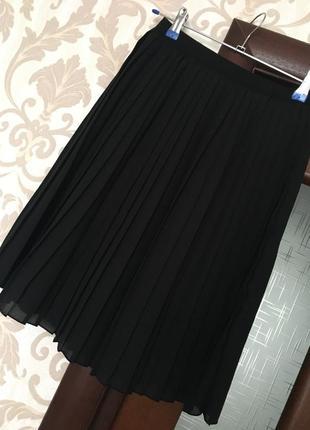 Актуальная юбка плиссе от uniqlo, размер xs-s2 фото
