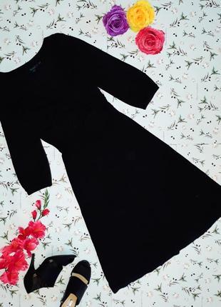 Шикарное фирменное черное платье миди boden, размер 48-501