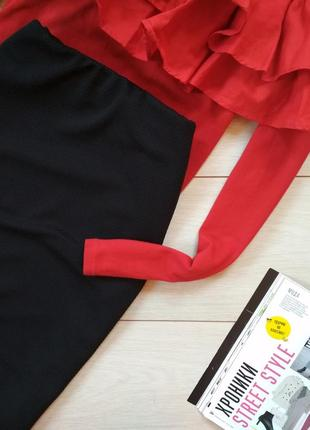 Трикотажная юбка карандаш2