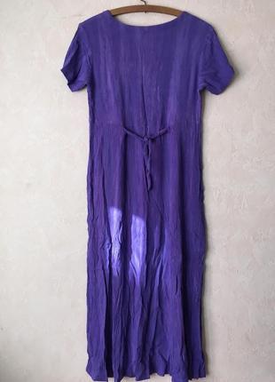 Платье фиолетовое4