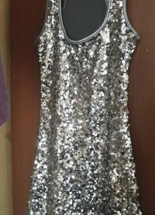 Плаття платье пайетки пайєтки1 фото