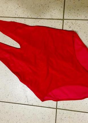 Слитный купальник с вырезами missguided5 фото