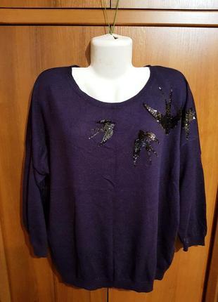 Стильный свитерок размера 54-56