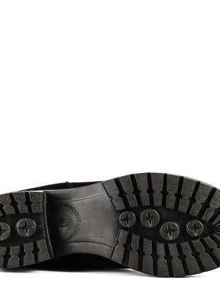 975цп женские полусапожки attico,замшевые,на толстом каблуке,на каблуке,на толстой подошве5