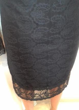 Ажурне плаття на довгий рукав.2 фото
