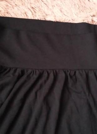 Пышная юбка с широким поясом резинка2