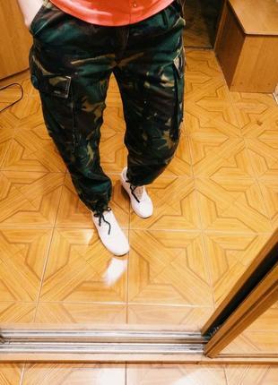 Комуфляжные штаны dcta