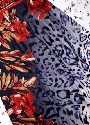 Шикарное фирменное платье zara с джинсовым верхом, размер 46-485