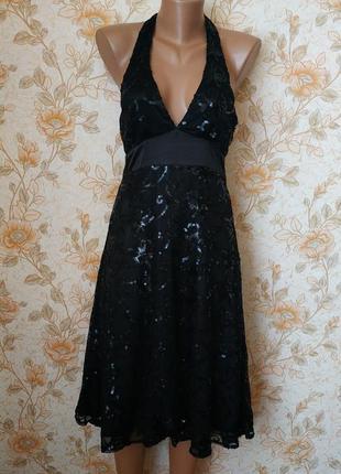 Красивое,праздничное платье!. на бирке- 14 р-р(48).1