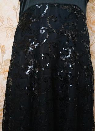 Красивое,праздничное платье!. на бирке- 14 р-р(48).3