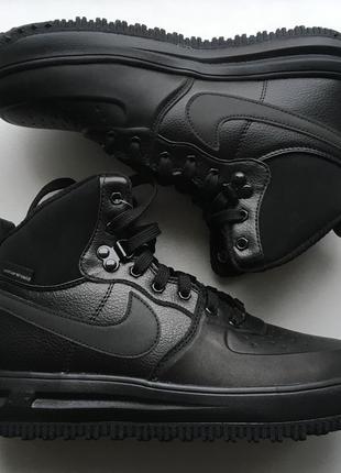 Новые ботинки кеды кроссовки nike lunar force 1 sneakerboot 24 см оригинал