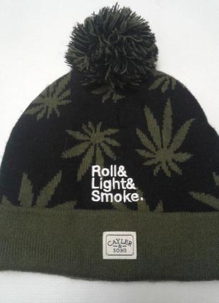 Прикольная лыжная шапка cayler&sons