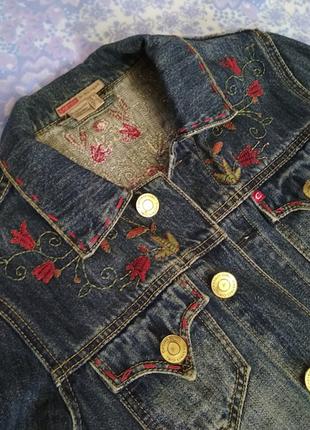 Пиджак джинс1