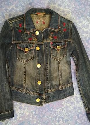 Пиджак джинс3