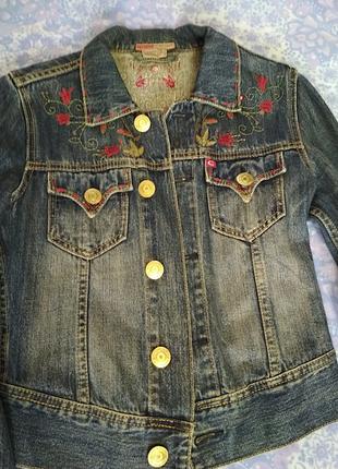 Пиджак джинс5