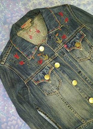 Пиджак джинс4