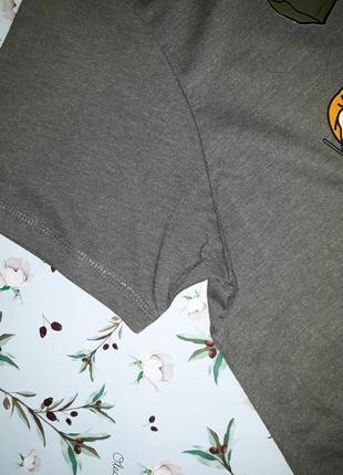 Стильное оригинальное хлопковое платье оверсайз primark,  52-54 размер, большой размер5 фото