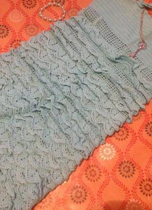 Вязаное платье hand made
