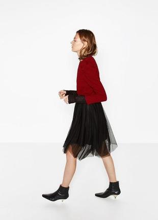 Стильная юбка zara1
