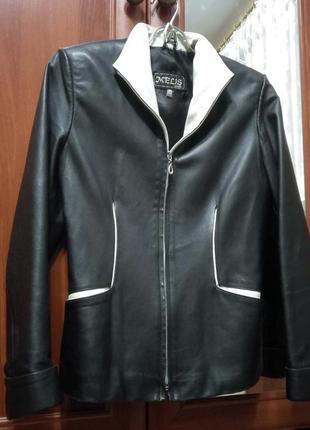 Шкіряна куртка1