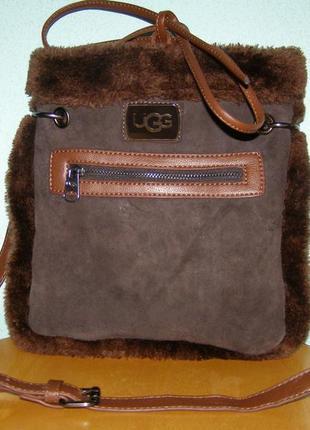 Замшевая сумочка ugg1