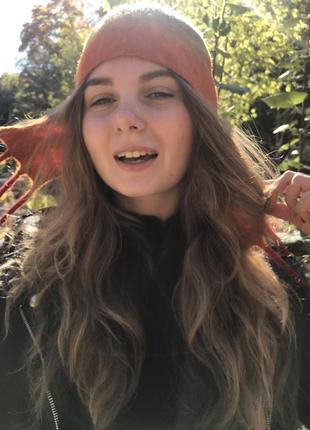 Шапка - ушанка  валяная женская шерстяная4 фото
