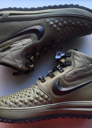 Новые ботинки кроссовки кеды nike lunar force 1 duckboot 17 25 см оригинал2