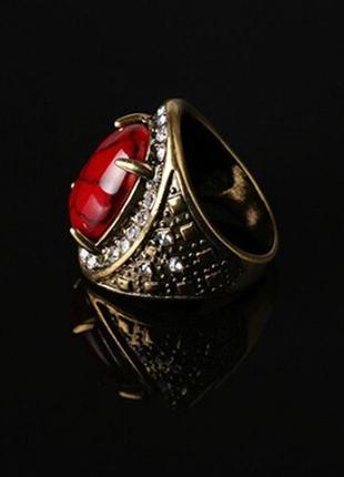 Красивое коралловое кольцо, 18 р., новое! арт.89805