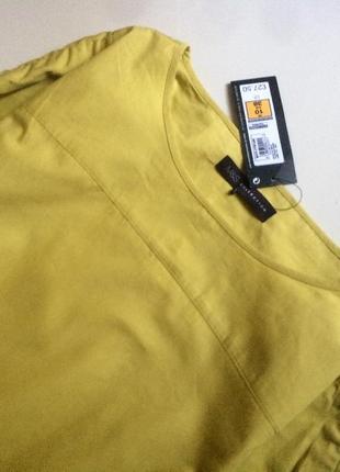 Блуза сорочка топ m&s 100% хлопок, p.eur 382