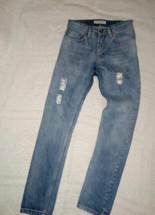 Фирменные джинсы на высокую девушку