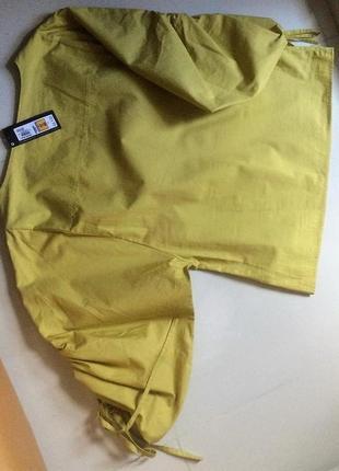 Блуза сорочка топ m&s 100% хлопок, p.eur 384