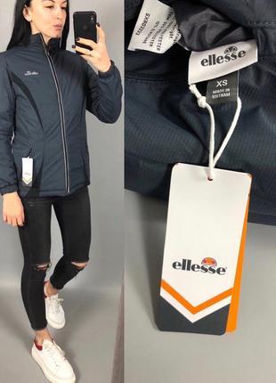 Куртка двусторонняя ellesse с рефлективными полосками4
