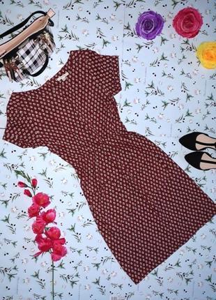 Фирменное хлопковое платье white stuff, короткое платье, размер 44-46