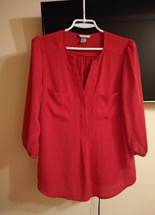 Блуза h&m,свободная ,а силует4 фото