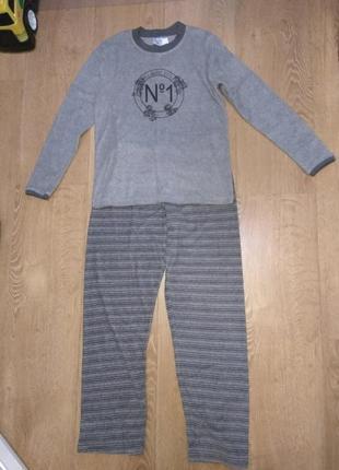 Махровая женская пижама, домашний костюм skin to skin m1