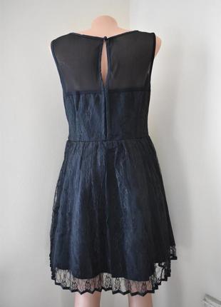 Нарядное кружевное платье   с пышной юбкой  new look3