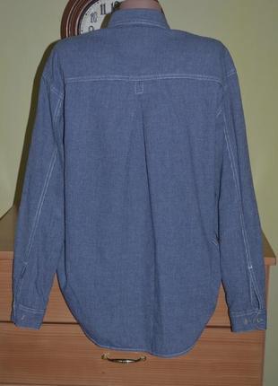Черная пятница! рубашка из плотной ткани свободного кроя levi's2 фото