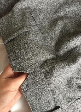 Модні сірі брюкі висока посадка с/85 фото
