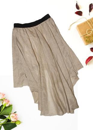 Асимметричная юбка с золотыми нитями diamond3