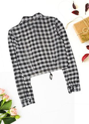 Рубашка короткая на завязке kylie2
