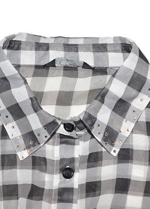 Рубашка короткая на завязке kylie3